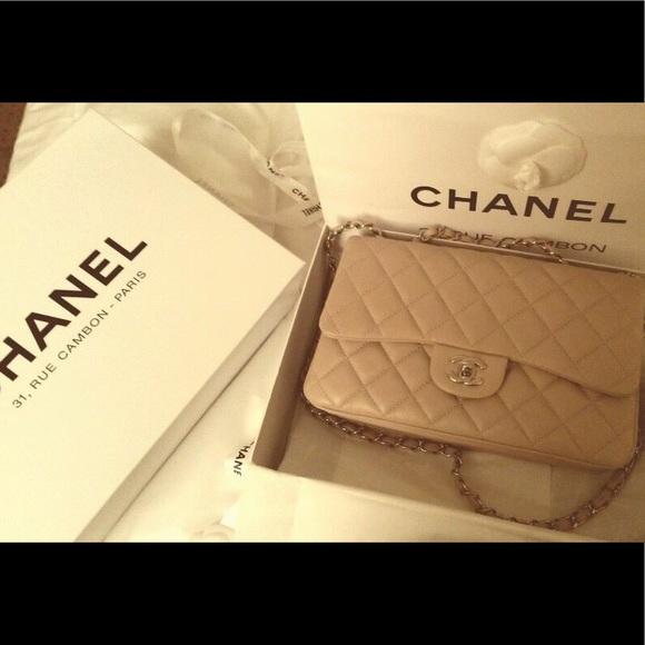 d21b7a7398268a CHANEL Handbags - Chanel Accordion Flapbag